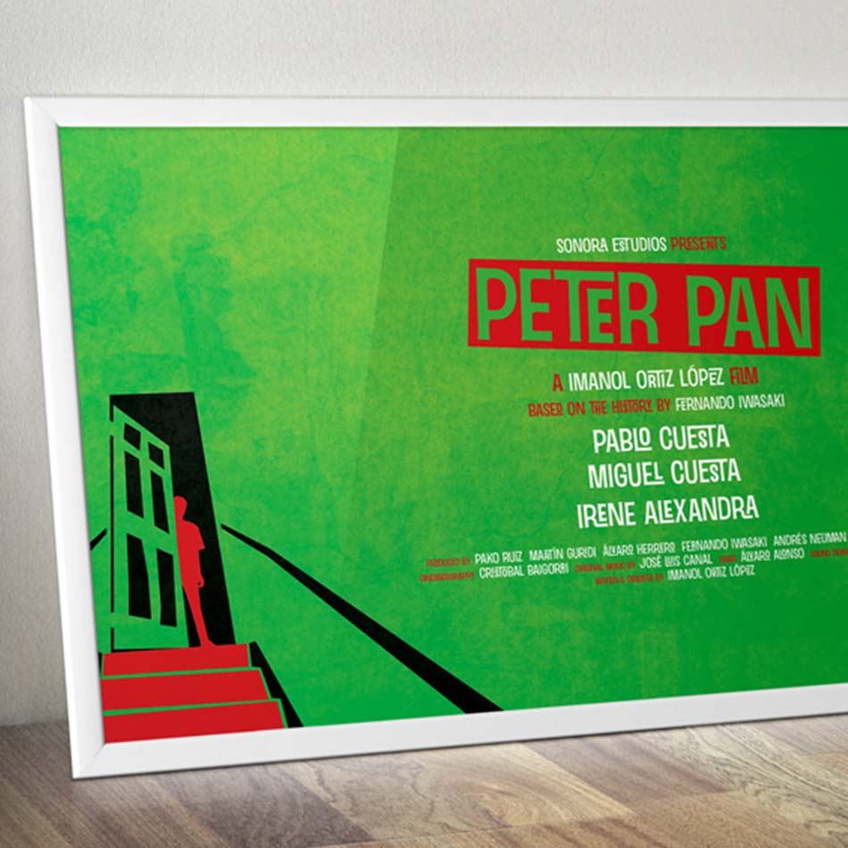 Illustration-Layout-Of-Spanish-Movie-Poster-Named-Peter-Pan